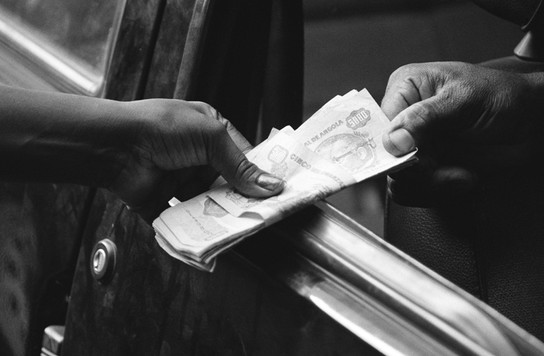 Покупка валюты на черном рынке